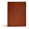 CSB Tony Evans Study Bible British Tan leathertouch