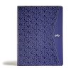CSB Tony Evans Study Bible Purple leathertouch